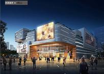 现代精美商场建筑设计
