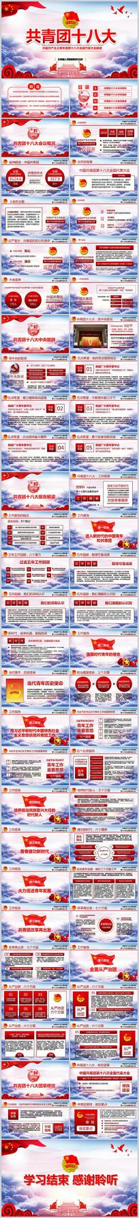中国共青团十八大报告PPT