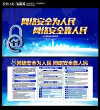 2018网络安全展板