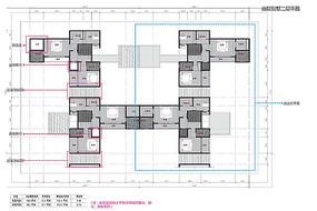 合院别墅二层户型图
