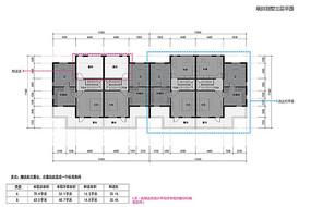 联排别墅住宅三层平面图