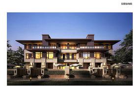 现代大气别墅建筑设计