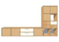 L型组合电视柜
