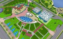 博物馆景观模型