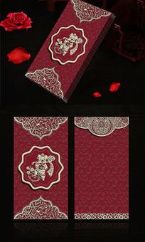 创意大气喜庆新年春节红包模板 PSD