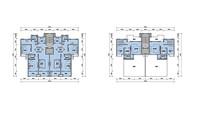 复式住宅平面图 JPG