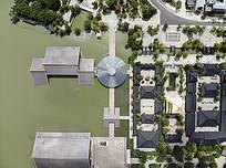 河道景观绿化建筑群遗址