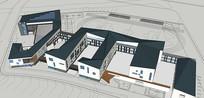 简约校园教学楼设计