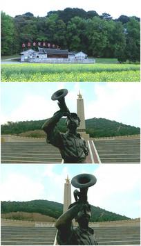 纪念碑古田会议吹响军号视频
