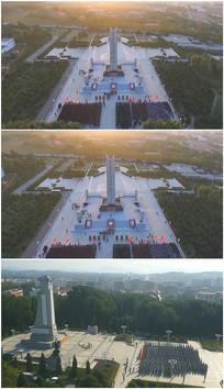清明节祭奠革命烈士视频