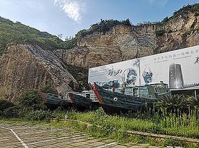 温岭村庄渔船景观模型