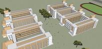 现代风格-一中教学楼