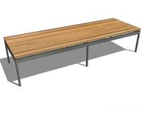 现代简约长桌