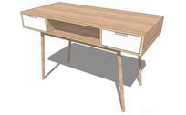 现代简约电脑桌