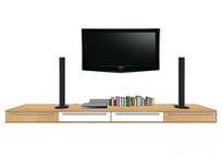 现代极简电视柜
