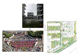 现代小区设计意向图 JPG