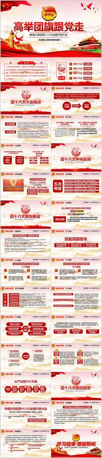 中国共青团十八大团课PPT