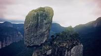 大山奇石实拍视频