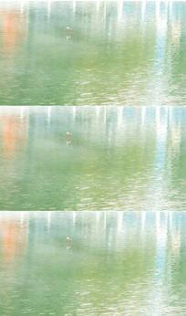 湖面水波视频