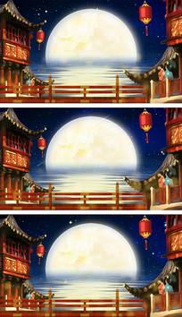中秋节古典背景视频
