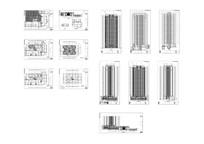 某滨江商业地块3栋建筑图