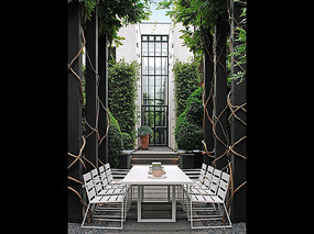 花园餐厅桌椅家具