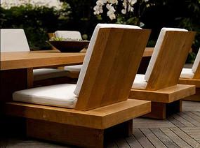 室外休闲餐椅家具