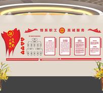 工会活动室文化墙
