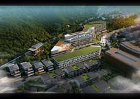 酒店景观鸟瞰图 JPG