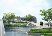 酒店屋顶绿化 JPG