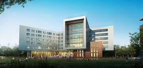 某大学建筑信息大楼效果 JPG