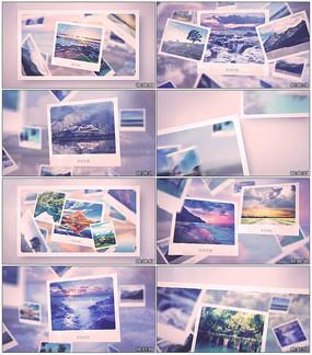 空间感记忆照片展示动画模板