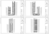 武汉市某地块建筑立面图