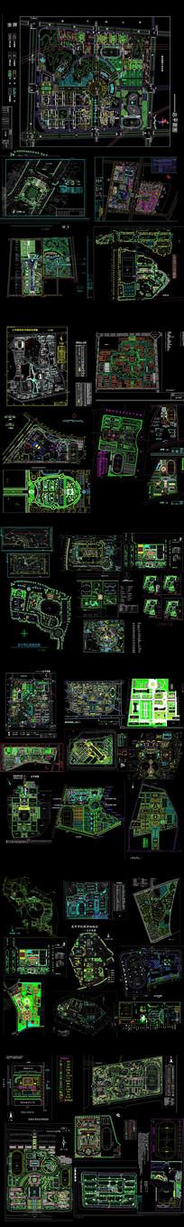学校景观规划平面图