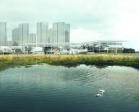 展巷生态滨水景观