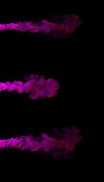 2K红色烟雾喷出视频素材