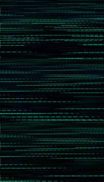 4K线条粒子数据背景视频素材