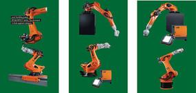 KUKA工业机器人矢量图