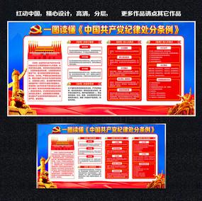 中国共产党廉洁自律准则和中国共产党纪律处分条例展板
