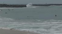 4k蓝天白云大海海洋实拍视频