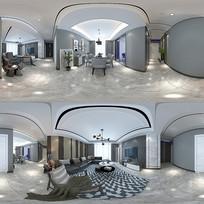 超现代灰色系成套家装模型素材