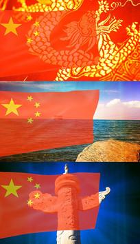 歌曲我爱你中国舞台背景视频