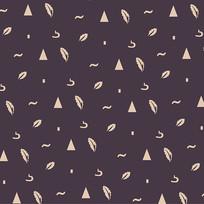 设计图案男裤印花花纹
