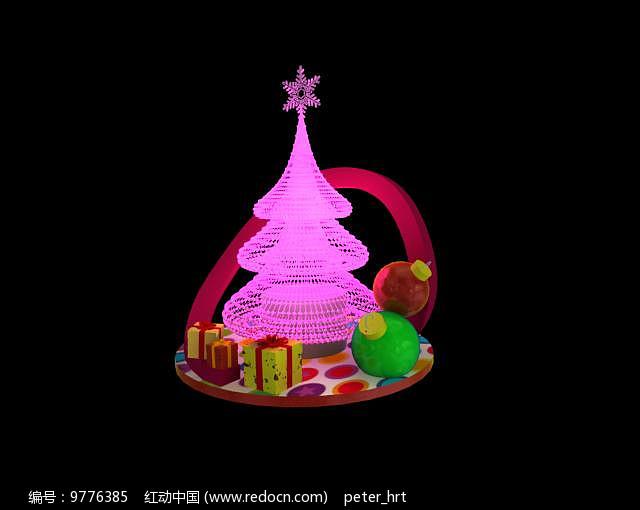 圣诞美陈小景图片