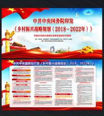 乡村振兴战略规划宣传栏