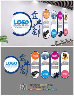 公司发展企业口号文化墙