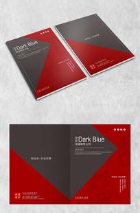 黑红高端商务封面