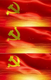 中国国旗视频素材