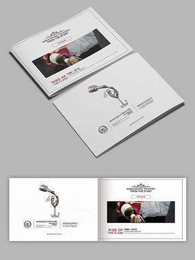 红酒葡萄酒公司产品画册封面
