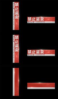 栏目包装人名字幕条AE模版